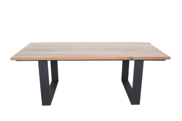 Steel Leg Dining Room Table